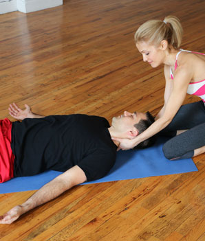 hatha yoga poses for couples  shape magazine