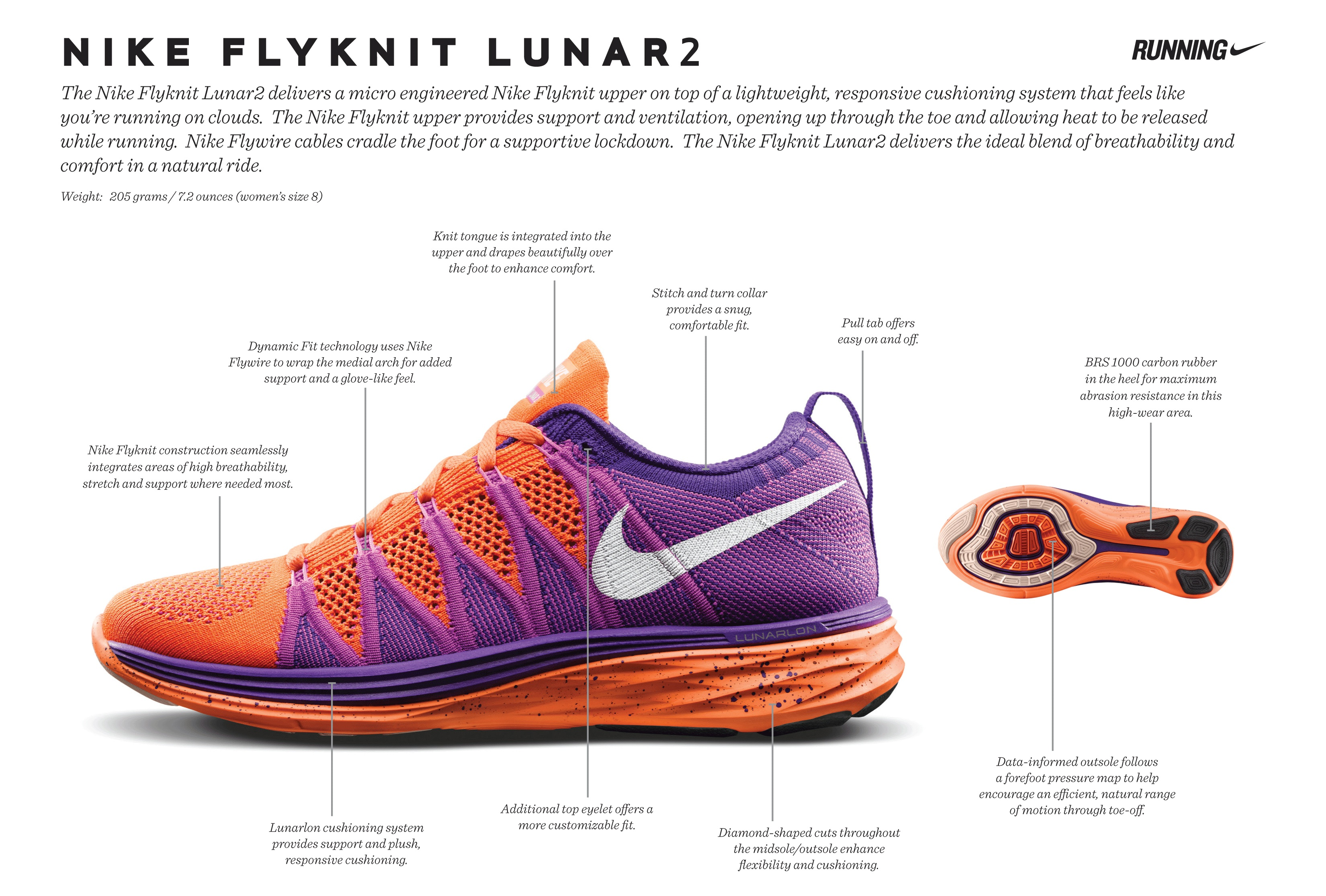 The Flyknit Lunar2s are also available to be customized with the NIKEiD at  nike.com. Click on the image below for more details about the shoe, ...