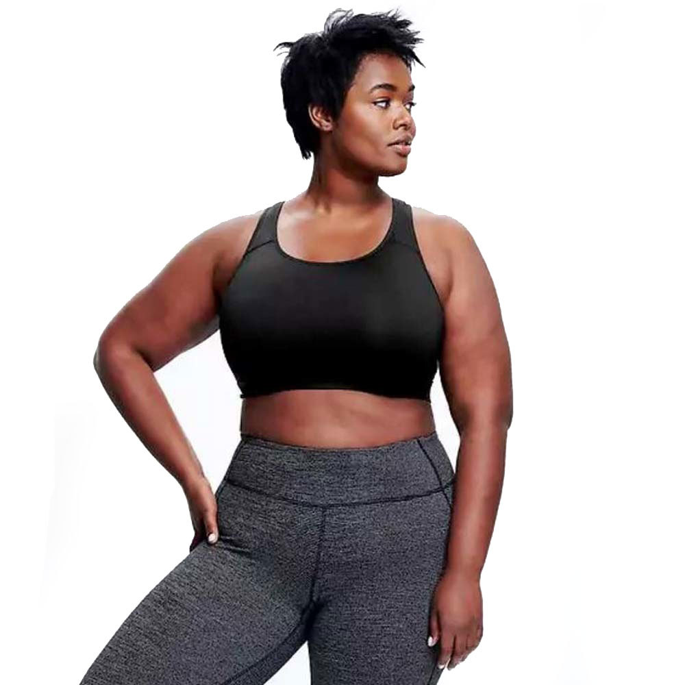 744e613f22 Plus-Size Sports Bras for Women Who Work Out