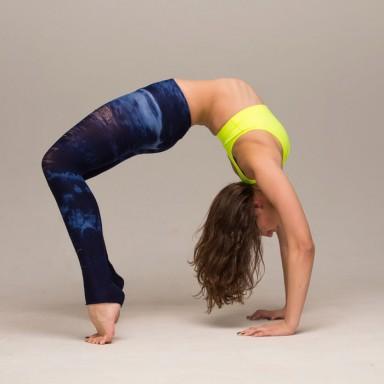 fatburning yoga workout video  shape magazine