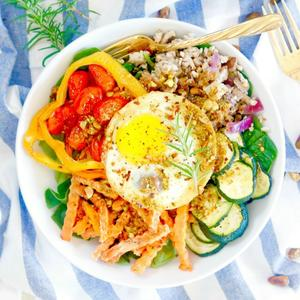 Paleo diet shape magazine build a better breakfast with this loaded paleo buddha bowl forumfinder Images
