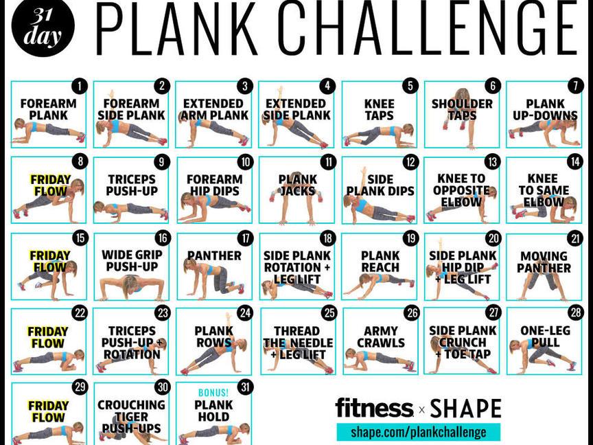 30-Day Challenge   Shape Magazine