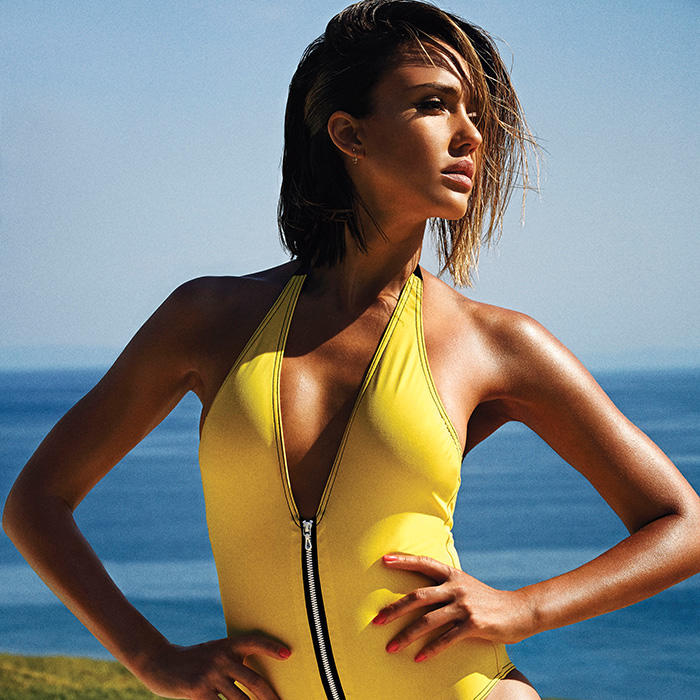 Jessica Alba Shares Bikini-Ready Secrets in the June Issue ...