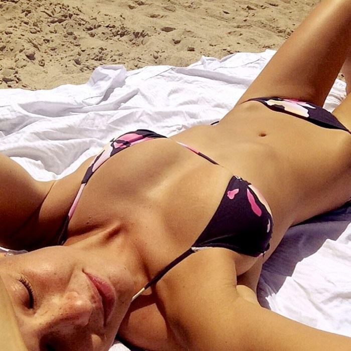 Sexy Celebrity Bikini Instagram Selfies Shape Magazine