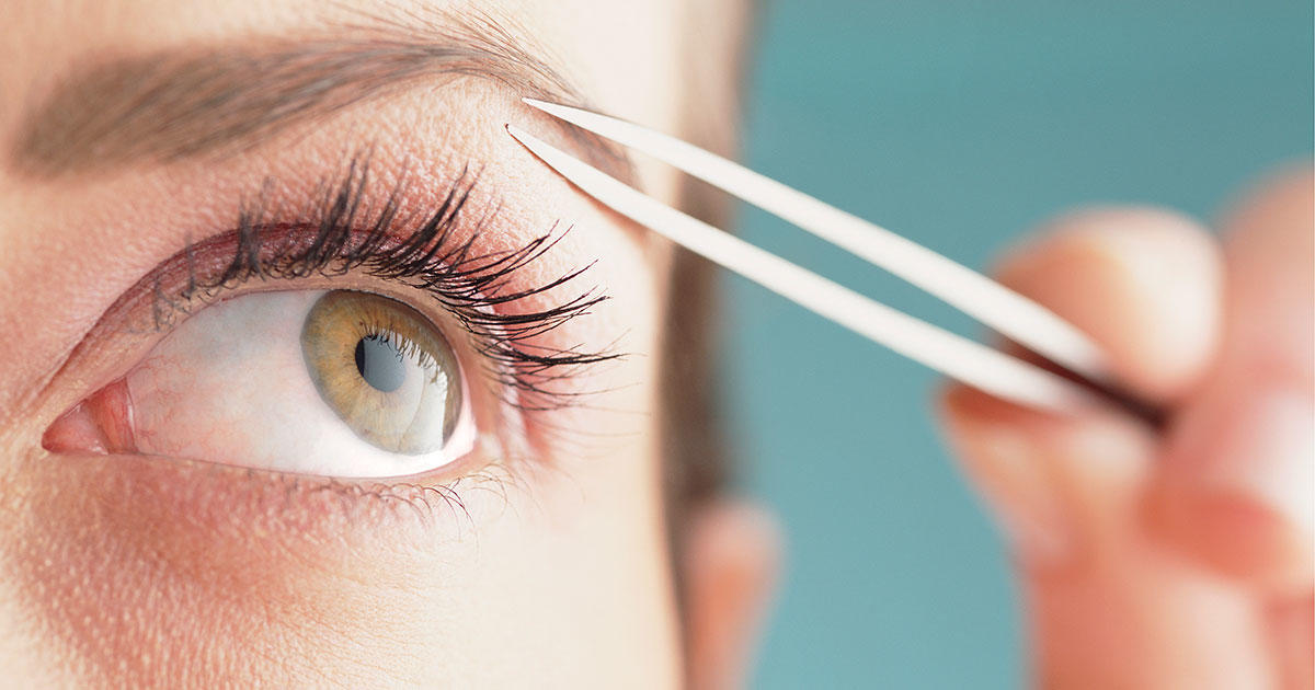 10 Tricks To Pluck Perfect Eyebrows Shape Magazine