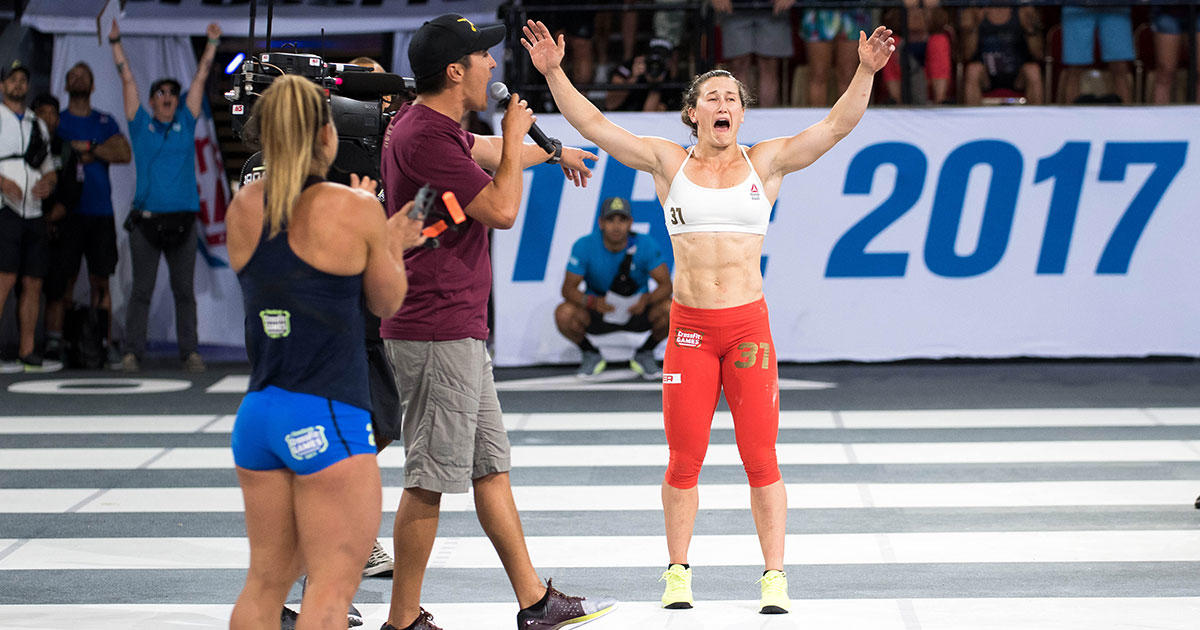 Crossfit games winner and fittest woman on earth tia