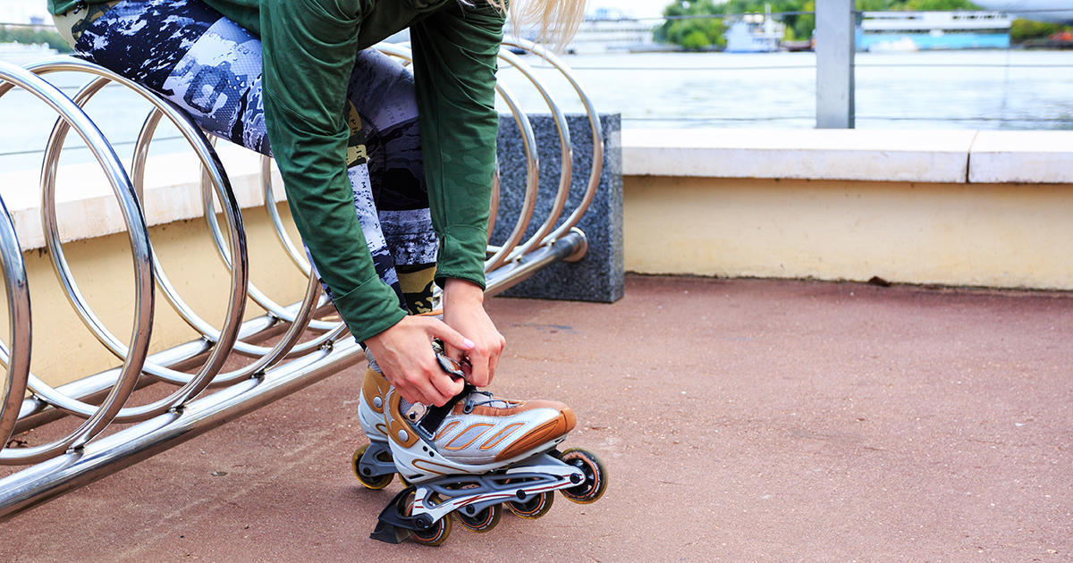 fb rollerblading - 10 Weight-Loss Tips That Don't Involve Working Out or Dieting