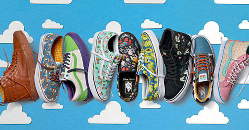 This Toy Story X Vans Collection Is Everything A 90s Kid Has Ever