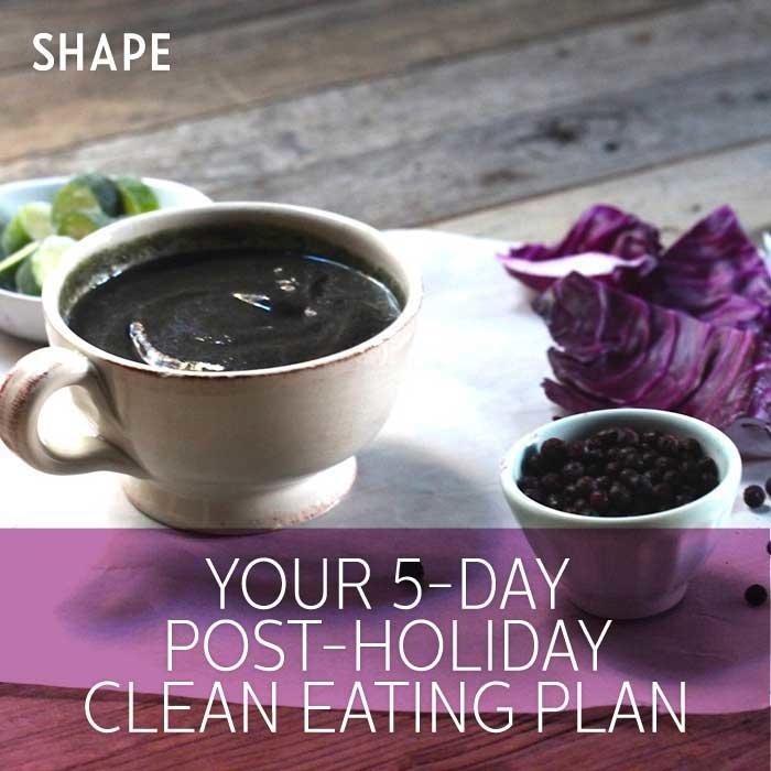 5-Day Clean Eating Detox Meal Plan After The Holidays