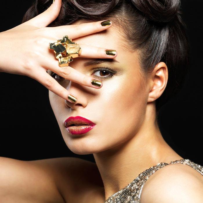 Fashion Nail Beauty Spa Elizabeth Nj: Beauty Tips: 5 Easy Nail Art Designs For New Year's Eve