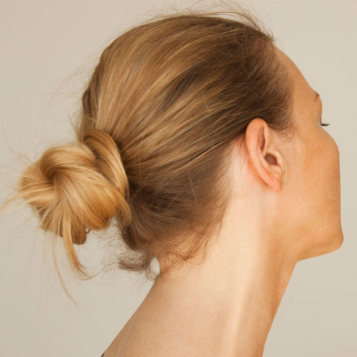 Step By Step Updo For Medium Length Hair Runway Bun