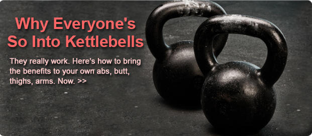Kettlebell Workouts: How To Get A Flat Stomach Fast: Kettlebell Exercises:  Tone Your Body | Shape Magazine