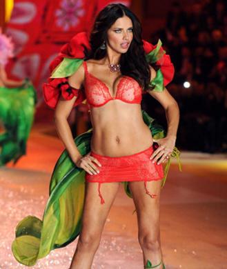 eadcbae112fcb There s no question Brazilian bombshell Adriana Lima stuns at the 2012 Victoria s  Secret Fashion Show. Amazingly
