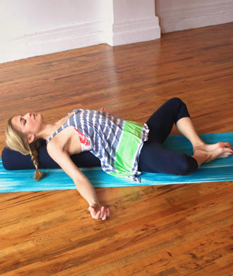 Restorative Yoga Poses To Relax And Calm