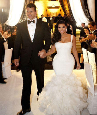 To Say That Kim Kardashian S Fairytale Wedding Nba Basketball Player Kris Humphries Was Over The Top Would Be An Understatement