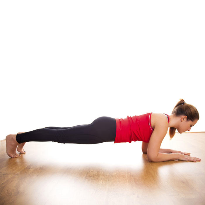 Abs Workout Video Featuring Plank Exercises Shape Magazine