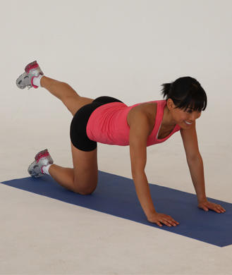 easy abs workout for beginners  shape magazine