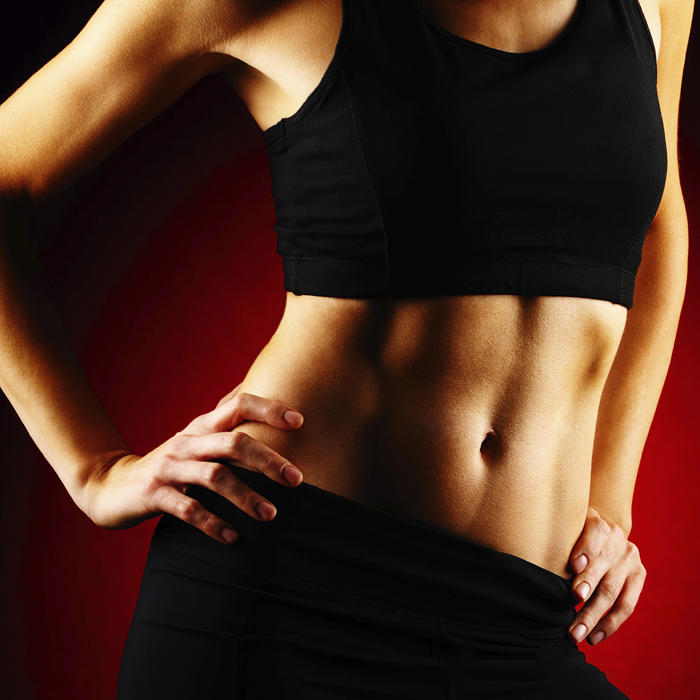 how to get a flat stomach and abs