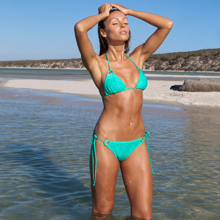 Girls with fit bikini girl good