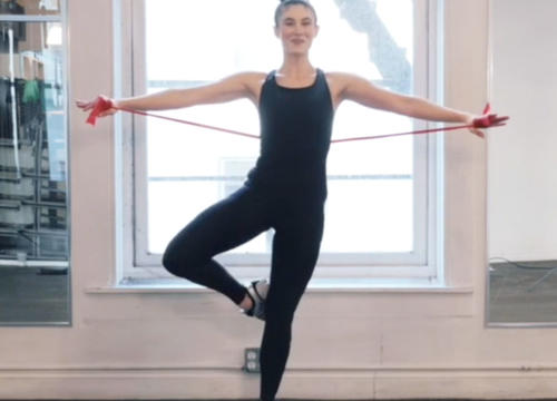 The 20-Minute Full-Body Workout Video Inspired by Ballet