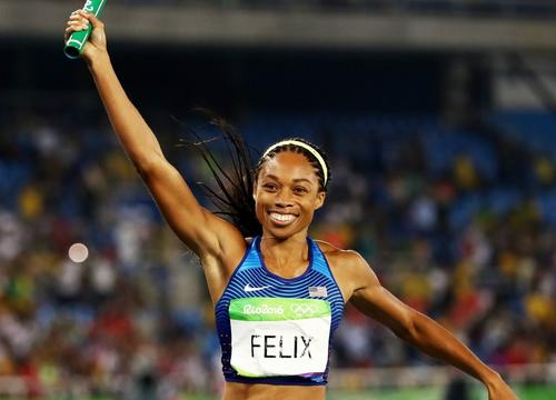 This Tip from Allyson Felix Will Help You Hit Your Long-Term Goals Once and for All