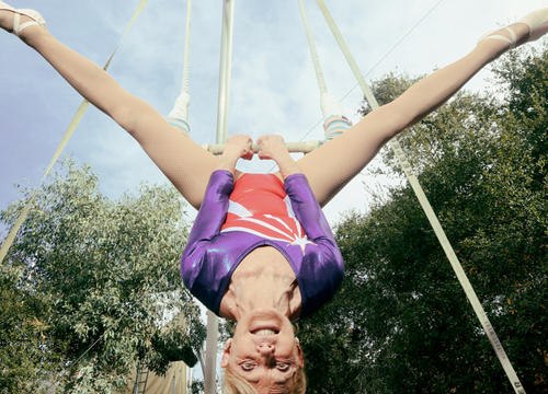 Meet Betty Goedhart, the Oldest Trapeze Artist In the World