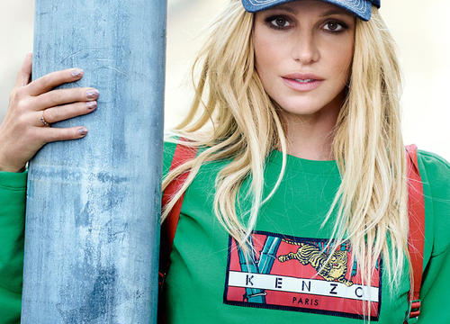 Britney Spears Proves She's Still the Queen of Denim In This New Kenzo Campaign