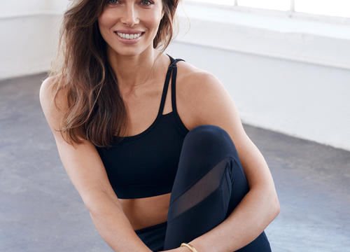 Jessica Biel Shares How Yoga Changed Her Mindset On Fitness