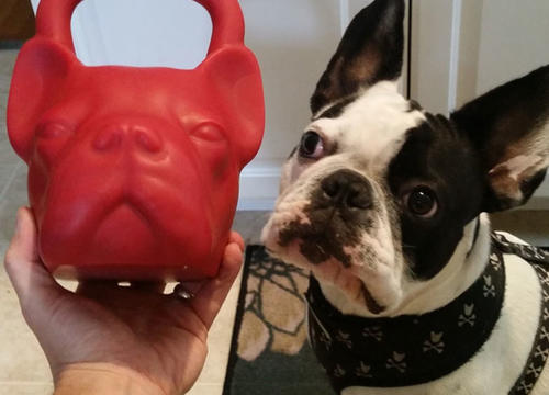These French Bulldog Kettlebells Are Every Dog-Loving Fit Girl's Dream Come True