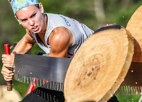 This Woman Made a Name for Herself In the Male-Dominated World of Lumberjack Sports