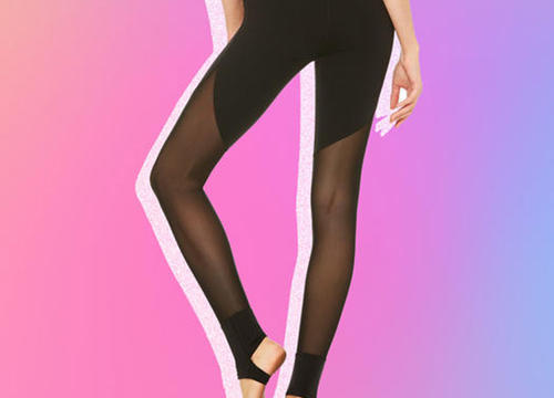 11 Mesh Leggings That Are Breathable and Look Legit