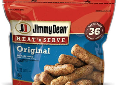 Jimmy Dean Recalls Nearly 30,000 Pounds of Sausage That May Contain Metal