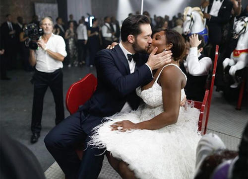 Serena Williams and Alexis Ohanian Are Married