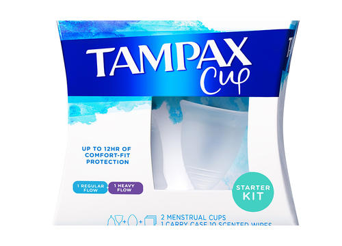 Tampax Just Released a Line of Menstrual Cups—Here Why That's a Huge Deal
