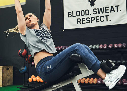 "Lindsey Vonn Teamed Up with ""The Rock"" to Launch a Legendary New Training Collection"