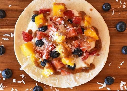 Tropical Berry Breakfast Tacos for a Sweet Way to Start Your Morning