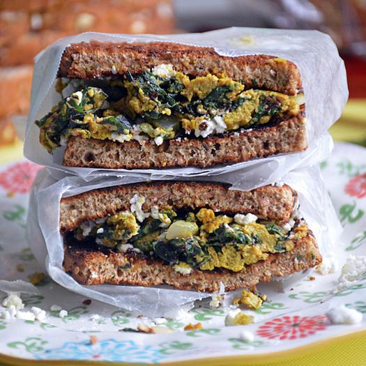 Breakfast recipe ideas for heart health shape magazine turmeric egg sandwich forumfinder Choice Image