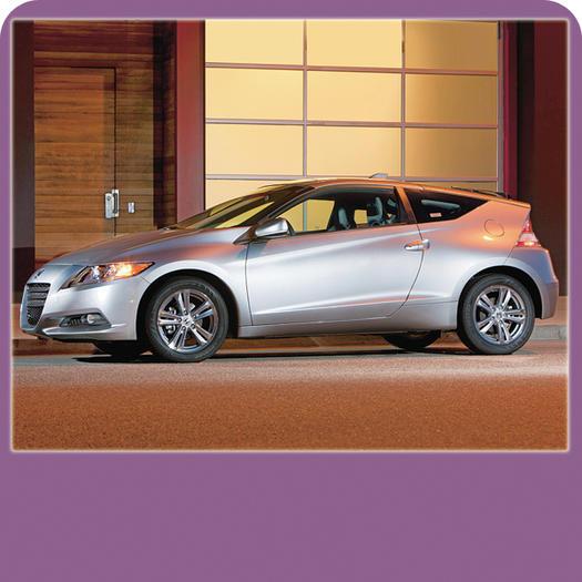 The Best Car For Urban Active Women: Honda Sport Hybrid CR Z