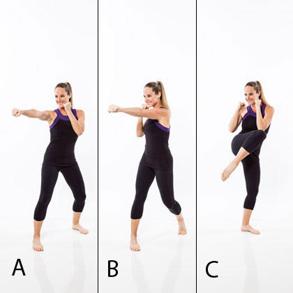 combo workout plan kickboxing training and ballet dance