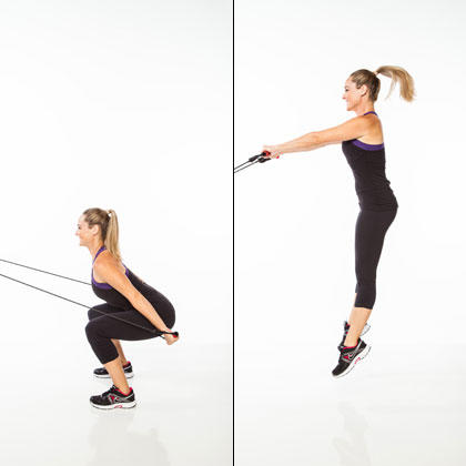 The Resistance Band Cardio Workout Burn Fat And Tone Up