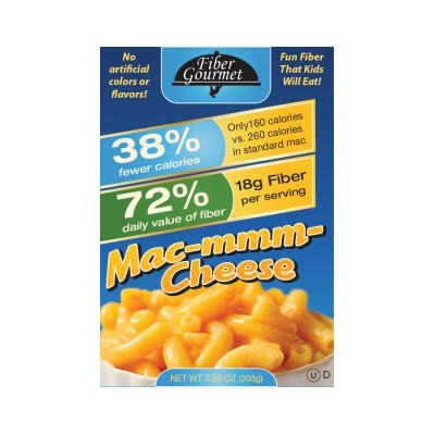 healthy snack fiber gourmet light mac and cheese
