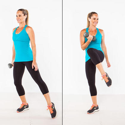 fatburning workout routine to lose your muffin top