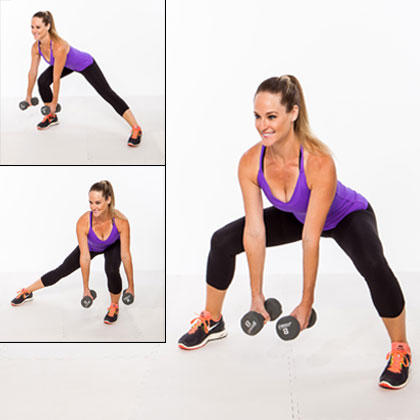 Shifting Side Lunge