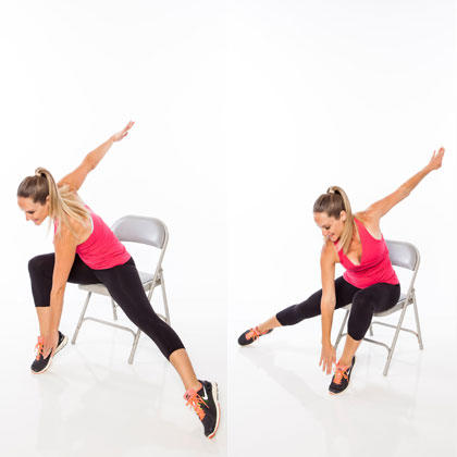 seated fullbody workout routine  shape magazine