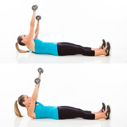abs workout with weights for a rocksolid stomach  shape