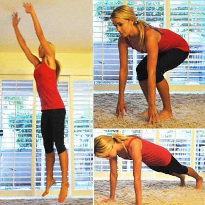 fast and effective athome cardio workout  shape magazine