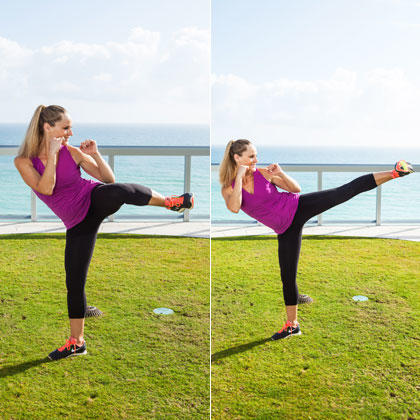 the best leg exercises and arm exercises for flat abs