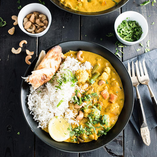 8 easy indian food recipes you can make at home shape magazine vegetarian korma easy indian food recipe forumfinder Images