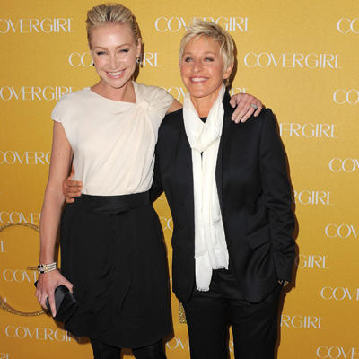 Celebrity Vegan Ellen DeGeneres And Portia De Rossi