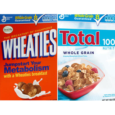 healthy eating which breakfast cereal has fewer calories shape